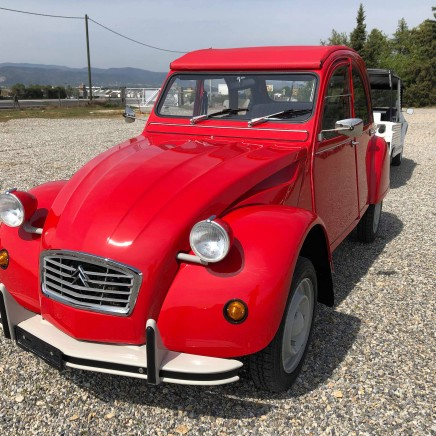 Galerie photo 2 CV ROUGE VALLUNGA
